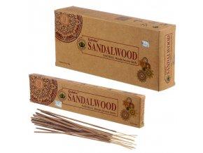 Goloka Organika Sandalwood Vonné tyčinky, 15 g