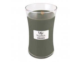 WoodWick Evening Bonfire vonná svíčka s dřevěným knotem, 609,5 g