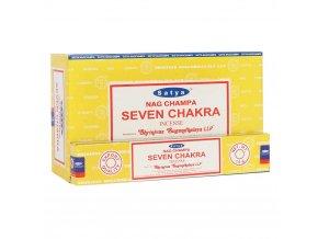 Shrinivas Satya Vonné tyčinky Seven Chakra, 15 g