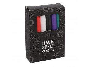 Magic Spell Candles Magické svíčky MIX barev, 12 ks