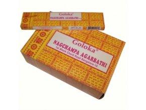 Goloka Nagchampa Agarbathi Vonné tyčinky, 16 g