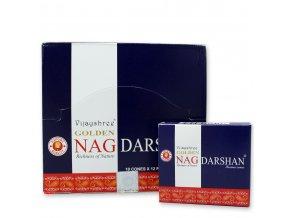Vijayshree Golden Nag Darshan Vonné kužely, 10 ks