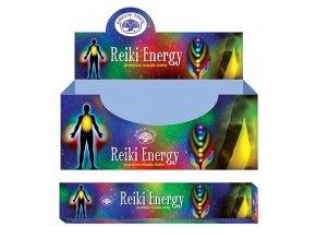 Green Tree Reiki Energy Vonné tyčinky, 15 g.