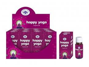 Green Tree Happy Yoga Vonný olej, 10 ml