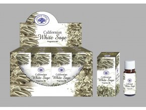 Green Tree Californian White Sage Bílá šalvěj Vonný olej, 10 ml