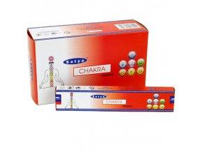 Shrinivas Satya Vonné tyčinky Chakra, 15 g
