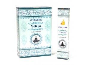 Ayurvedic Yoga Vonné tyčinky, 15 ks