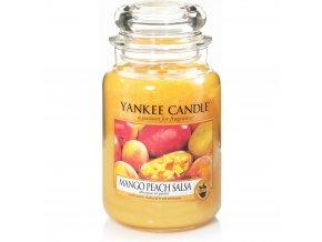 Yankee Candle Classic velký Vonná svíčka Mango Peach Salsa, 623 g