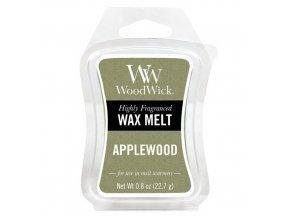 Vonný vosk WoodWick Apple Wood Jabloňové dřevo 22,7 g