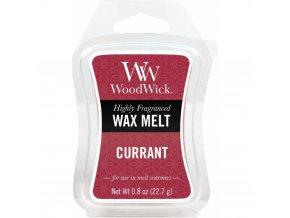 Vonný vosk WoodWick Currant Rybíz, 22,7 g