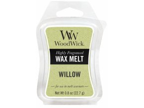 Vonný vosk WoodWick Willow Vrbové květy, 22,7 g