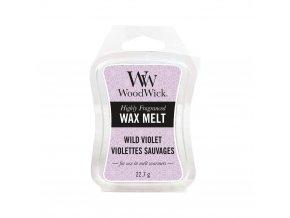 Vonný vosk WoodWick Wild Violet Divoká fialka, 22,7 g