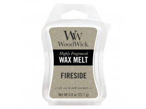Vonný vosk WoodWick Fireside Oheň v krbu, 22,7 g