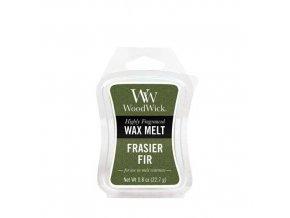 Vonný vosk WoodWick Frasier Fir Jedle Fraserova, 22,7 g