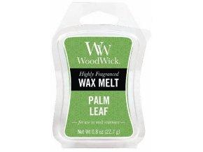 Vonný vosk WoodWick Palm Leaf Palmový list, 22,7 g