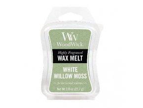 Vonný vosk WoodWick White Willow Moss Vrba a Mech, 22,7 g