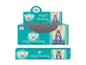 Green Tree Angel Healing Andělské léčení Natural Masala Vonné tyčinky, 15 g.