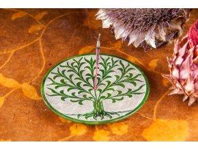 Mani Bhadra Stojánek na vonné tyčinky Yggdrasil mastek, 10 cm