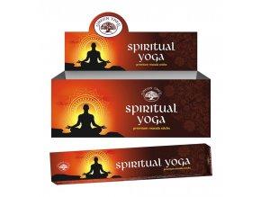 Green Tree Spiritual Yoga Natural Masala Vonné tyčinky, 15 g