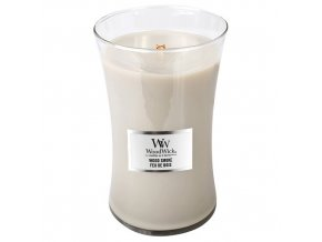 WoodWick Wood Smoke vonná svíčka s dřevěným knotem, 609,5 g