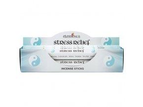 Elements Vonné tyčinky Stress Relief, 20 ks
