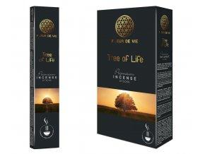 Fleur De Vie Tree Of Life Vonné tyčinky, 16 g.