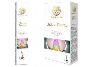Fleur De Vie Chakra Energy Vonné tyčinky, 15 g.