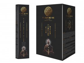 Fleur De Vie Five Tibetan Rites Vonné tyčinky, 15 g.
