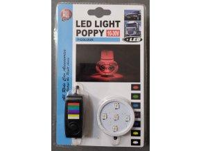 Gracemate Poppy LED osvětlení 7 barev doplněk k osvěžovači vzduchu, do zapalovače