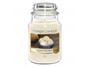 Yankee Candle Classic vonná svíčka Coconut Rice Cream, 623 g