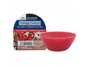 Yankee Candle Vonný vosk Red Raspberry Červená malina, 22 g