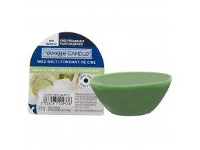 Yankee Candle Vonný vosk Vanilla Lime Vanilka s limetkou, 22 g