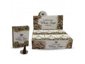 Green Tree Californian White Sage - Vonné kužely, 10 ks