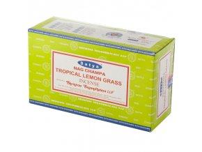 Shrinivas Satya Vonné tyčinky Tropical Lemon Grass Tropická citronová tráva, 15 g