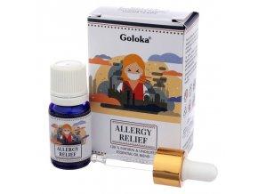 Goloka Natural Essential Oil Allergy Relief Směs, 10 ml