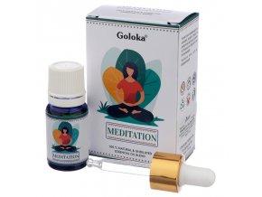 Goloka Natural Essential Oil Meditation Směs, 10 ml