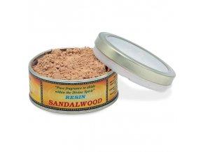 Mani Bhadra Vonná směs pro vykuřování Sandalwood, 30 g.