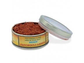 ManiMani Bhadra Vonná směs pro vykuřování Patchouli Amber, 40 g.