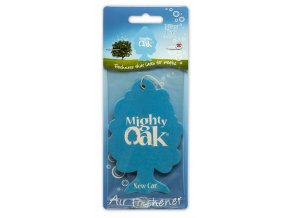 Mighty Oak 2D Air Freshener New Car Osvěžovač vzduchu, 1 ks