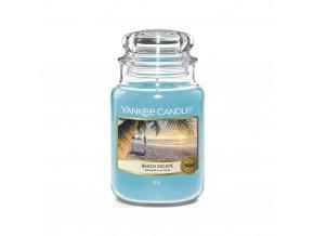 Yankee Candle Classic velký Vonná svíčka Beach Escape Únik na pláž, 623 g