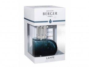 Maison Berger Paris Katalytická lampa Alliance zelená + náplň Libanonský cedr dárková sada, 250 ml