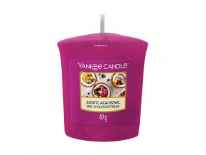Yankee Candle Votivní svíčka Exotic Acai Bowl Miska exotických chutí, 49 g