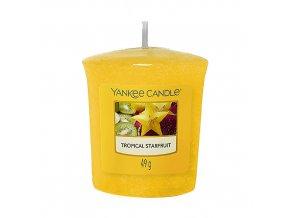 Yankee Candle Votivní svíčka Tropical Starfruit Tropická karambola, 49 g