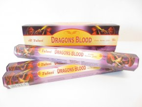 TULASI Vonné tyčinky Dragons Blood Dračí krev, 20 ks
