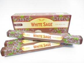 TULASI Vonné tyčinky White Sage Bílá šalvěj, 20 ks