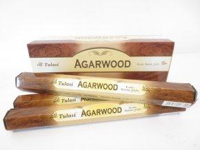 TULASI Vonné tyčinky Agarwood, 20 ks