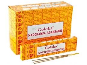 Goloka Vonné tyčinky Nag Champa, 40 g