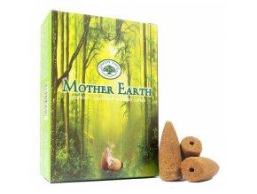 Green Tree Vonné kužely Tekoucí dým Mother Earth, 12 ks 1