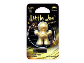 Supair Drive AG Little Joe Metallic 3D Osvěžovač vzduchu Gold Cinnamon, 1 ks