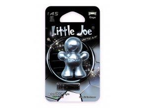 Supair Drive AG Little Joe Metallic 3D Osvěžovač vzduchu Silver Ginger, 1 ks